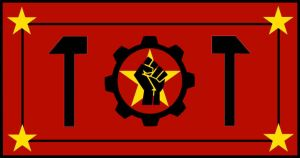 Worker's Flag Remake by BullMoose1912