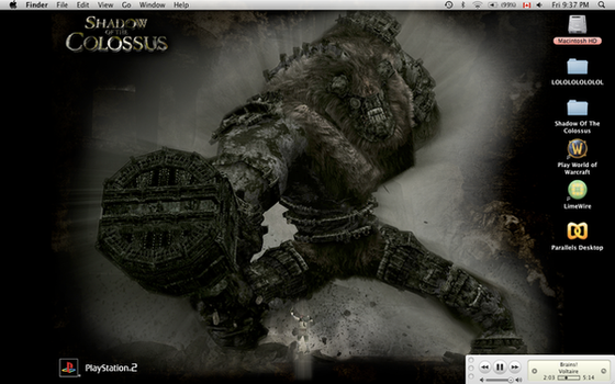 Shadow Of The Colossus Desktop by aaawhyme