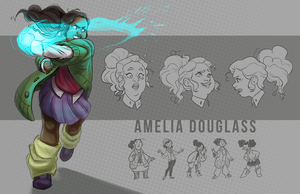 Amelia Douglass by Dakotaa