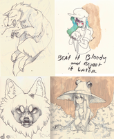 mini sketch dump by urukins