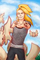 Deidara's happiness by Haneko-san