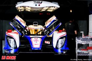 Toyota TS030 LMP1 by alexisgoure