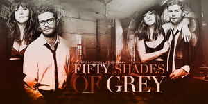 Fifty Shades of Grey Movie Anastasia and Christian by mariebelikov