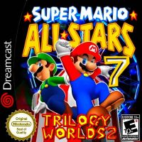 Super Mario AllStars 7 Trilogy Worlds  2 BLK by dcFanatic99