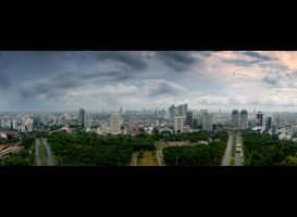 Indonesian capital city by nooreva