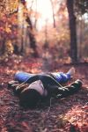 Laying in the Woods by KingFamine