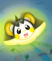 Pokemon Challenge: 07 Emolga by KittenthePsycho