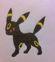 Umbreon by Butterfree99