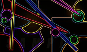 NEON PUZZLE  (900) by STATIC-FLOW-ART