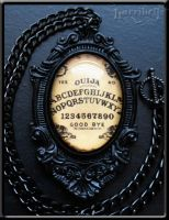 Ouija Noir Necklace by Horribell-Originals