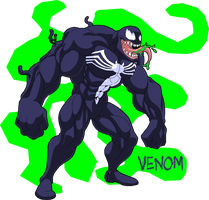 Fanart: Venom by Kato-Regama