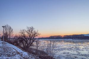 Sundown by the river by rembo78