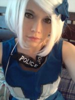 me cosplaying as the tardis by BubblegumGirl22