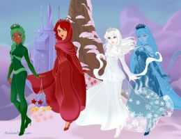 The Element Queens by suburbantimewaster