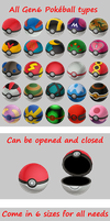6th generation Poke Balls DL by haoLink