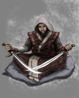 Mongolian Sword Saint by TheLivingShadow