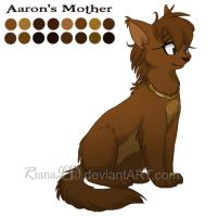 Aarons Mom::. Color Reference by ArtByRiana