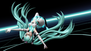 Racing Miku by MoonyWitcher