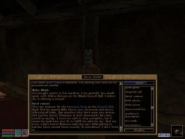 TES III Morrowind - Because of training, lady :P by KuznyaDragonOfBaa