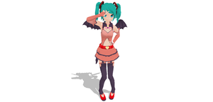 DT Heart Hunter Miku New Update by SenseiTag