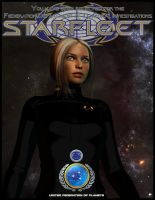 Starfleet Dept of Temporal Investigations Poster by MotoTsume