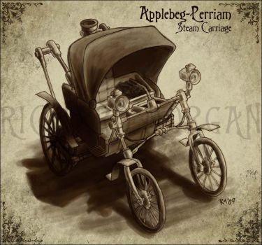 Applebeg-Perriam Steam Car by zonefox
