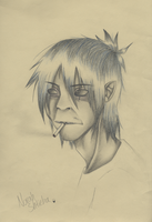 2D Portrait by BlackWorufu