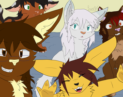 Day 15-The Big Family by Izzyhime