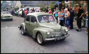 1956 Renault 4CV by compaan-art