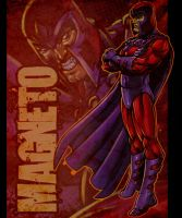 Marvel Characters Magneto by DeonN