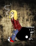 Kurt, get the f*ck of my drums! by tytuska
