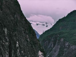 Tracy Arm Fjord Alaska by CorazondeDios