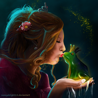 The Frog Prince by sunnydelight18
