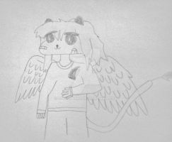 Here's a random drawing I made by Gojilion91