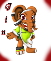 AT: Jin the Elephant by Lolly-pop-girl732