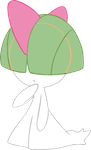 ~PokeBase~ Ralts by YukiMemories