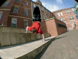 Flip - handstand II by Zade-uk