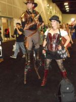 Steampunk - Comikaze Expo 2013 by MidnightLiger0