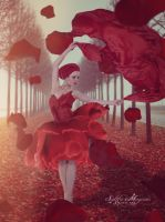 Red Rose Dance by Sacm88
