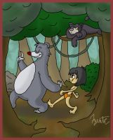 Jungle Book: The Bare Necessities by AgentC-24
