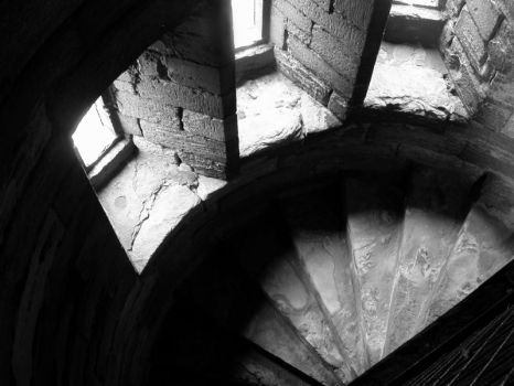 Stairway Windows by ContributeAVerse