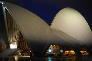 105 Opera House by night 02 by BelialMadHatter