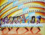 winx last supper by davidartistic
