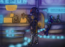 Mass Effect - The Wards by Diyaru4500