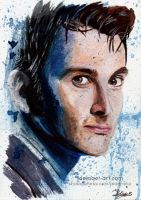 Doctor Who - Tenth Doctor | Art Card by Jeanne-Lui