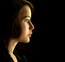 Katniss poster - FINISHED by Mariana-S