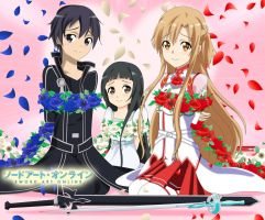 .: SAO : Captives in Roses :. by Sincity2100