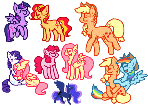 pones by stArchaeopteryx