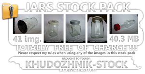 Jars stock set by Khudozhnik-Stock