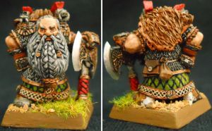 Forge World Dwarf Lord with Great Weapon by Hobbittzu